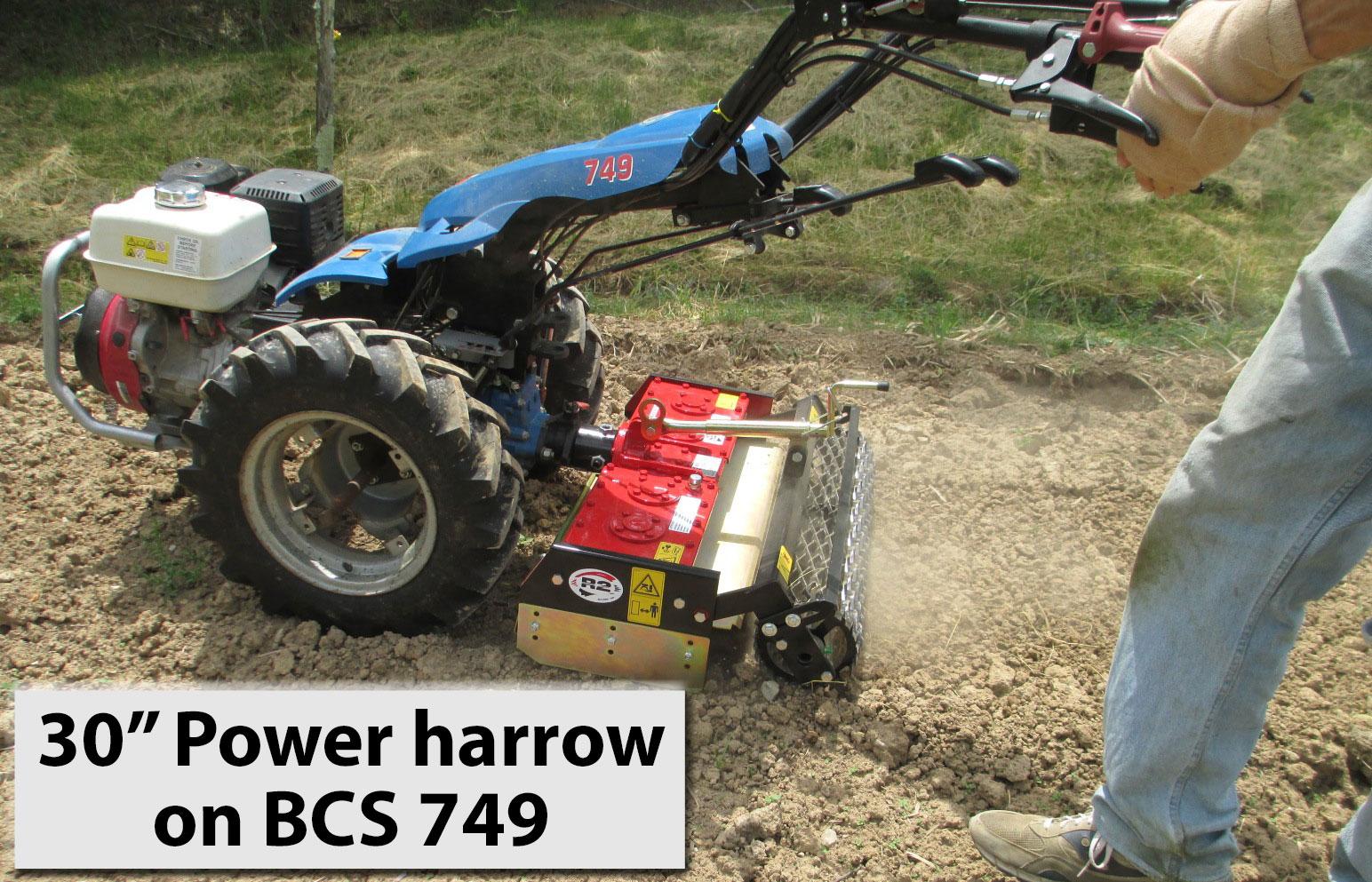 Bcs Garden Tractors : Earth tools