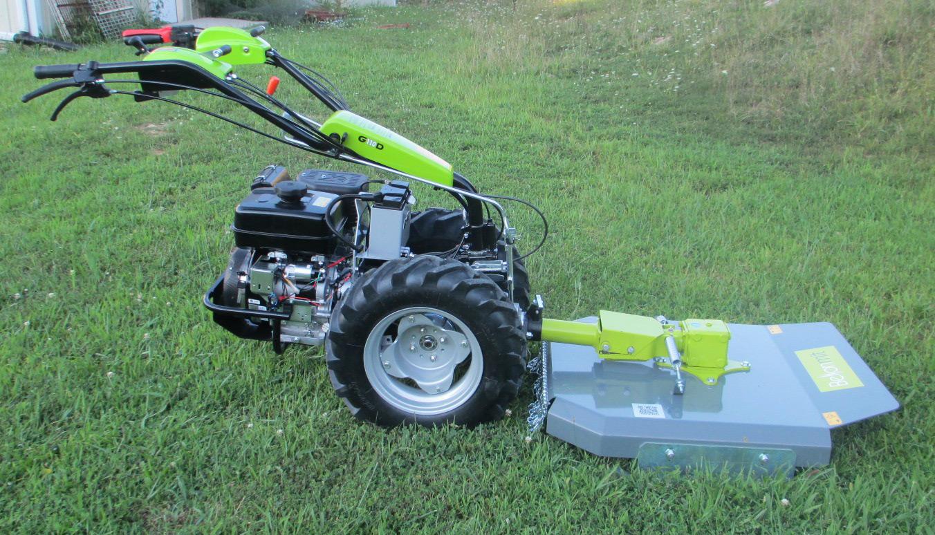 Earth tools for Motocoltivatore con trincia usato